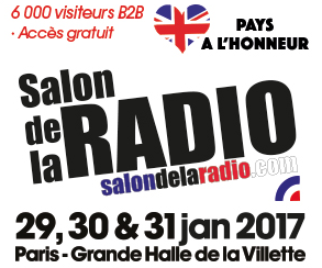 Le salon de la radio se tiendra paris mediaspecs france for Salon de la radio 2017